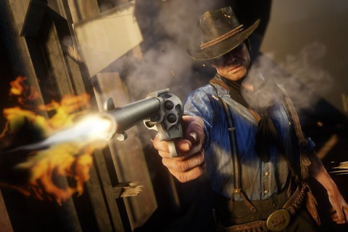 red dead redemption 2pic